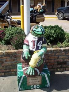 Frog Statue - Rayne, LA