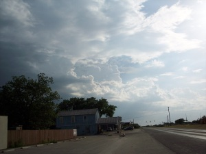 Approaching Storm Clouds - Columbus, TX Area
