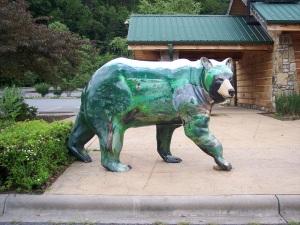 Concrete Bear - Cherokee, NC
