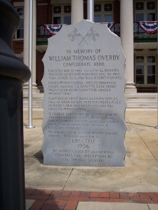 Confederate Commemorative Stone