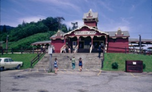 Frontier Land Main Entrance, Circa 1970