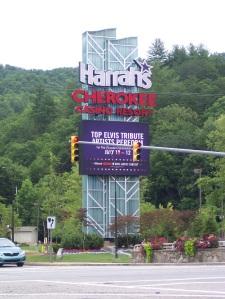 Harrah's Sign