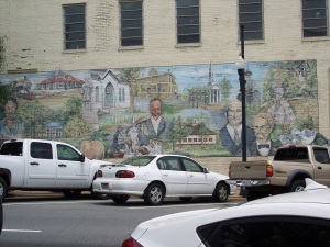 Right Half Of Mural - Newnan, GA