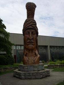 Sequoyah Statue - Front